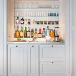 Home Bars That Serve Up Style | Decorating Files | #homebars #entertaining