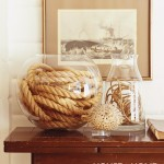 Rope It In: Accessories & Furniture Accented with Decorative Rope | Decorating Files | #rope #ropedecor #decorativerope