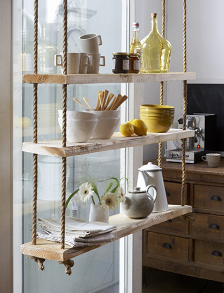 Accessories Amp Furniture Accented With Decorative Rope