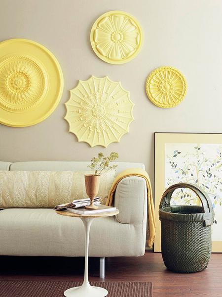 Creative alternatives for wall art - Alternatives to painting walls ...