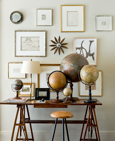 Displaying collections in style the decorating files - Vintage home decorating collection ...