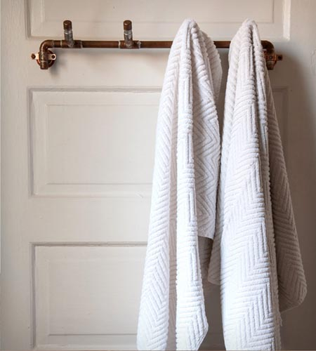 Towel Racks 10 Fun And Functional Alternatives The