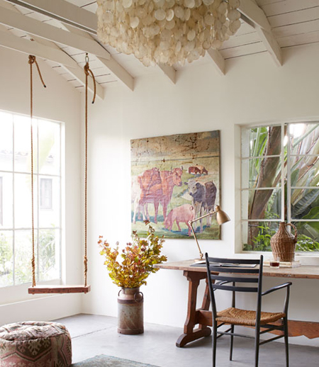 Home Tour: Rustic California Bungalow
