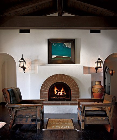 12 Inspirations For Home Improvement With Spanish Home: Home Tour: Diane Keaton's Spanish Colonial Residence