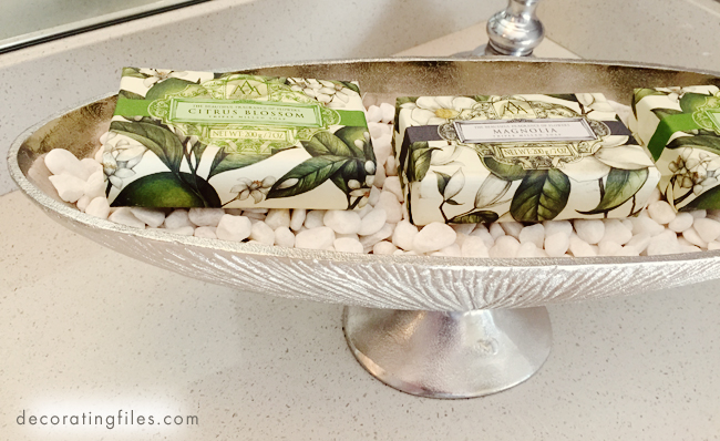 vanity trays how to add a touch of hotel style, Home decor