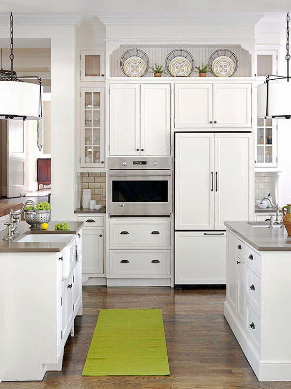 10 ideas for decorating above kitchen cabinets Design ideas for above kitchen cabinets