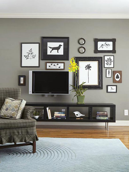 8 Easy Decorative Ways To Hide Your Tv