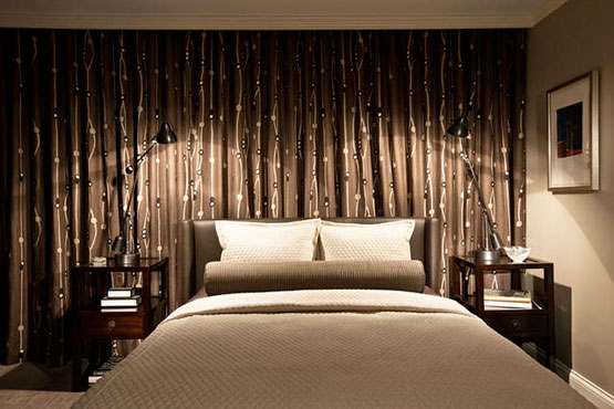 Curtains On Walls Decorate The House With Beautiful