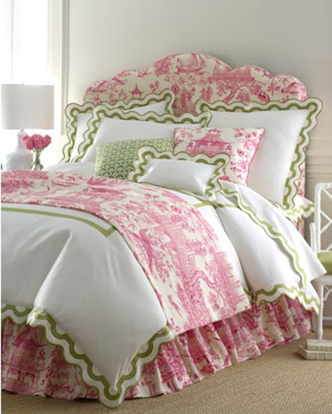 Pink Bedroom Ideas That Can Be Pretty And Peaceful Or: Toile De Jouy: What Is It & How Do You Really Pronounce It?