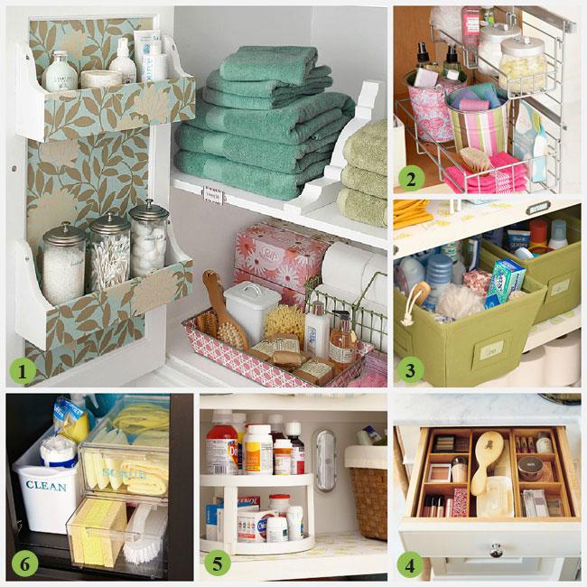 Creative Bathroom Storage Ideas For Cabinets