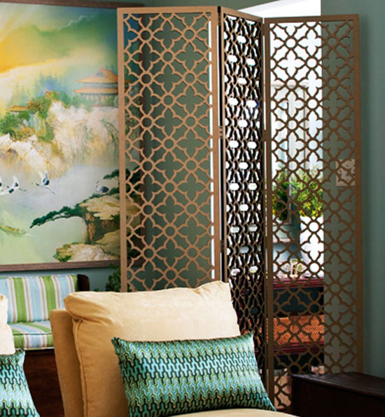 Great Ways To Decorate With A Folding Screen