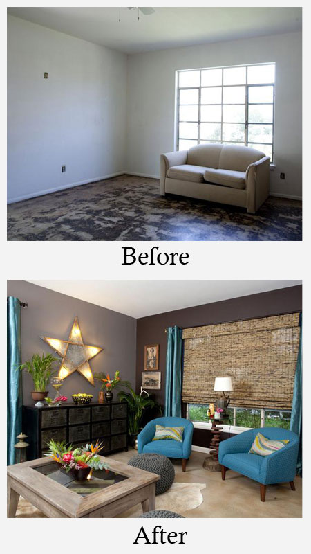 before and after living rooms living room makeovers before and after photos 18143