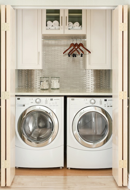 Laundry Room Is A Closet