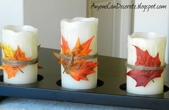 how to decorate your home with candles 12 fall craft ideas to decorate your home 13662