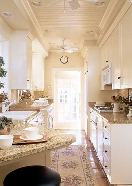 Galley Kitchens That Rock Decorating Files Galleykitchens Smalle